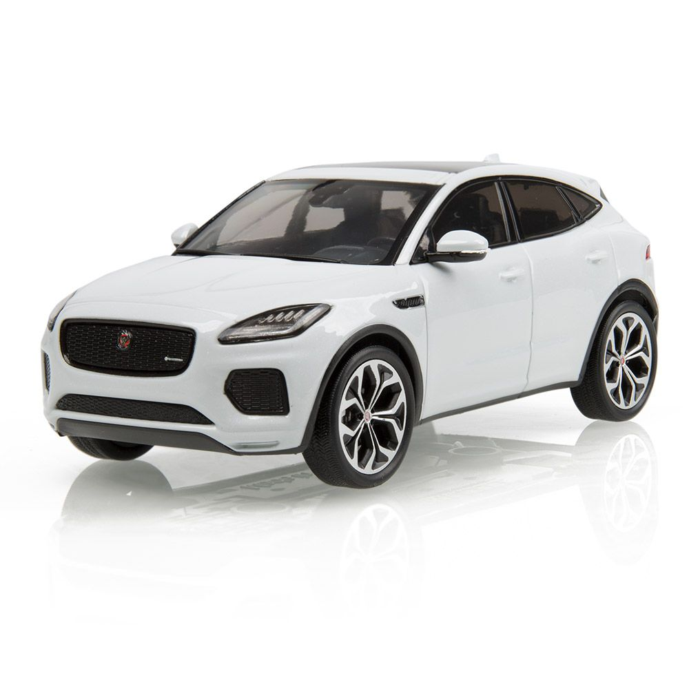 Jaguar E-Pace 1:43 Scale Model - Yulong White