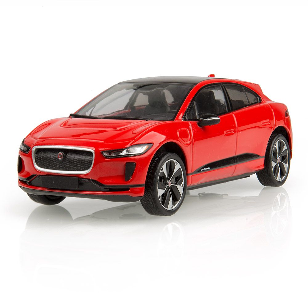 All-Electric Jaguar I-PACE 1:43 Scale Model - Photon Red