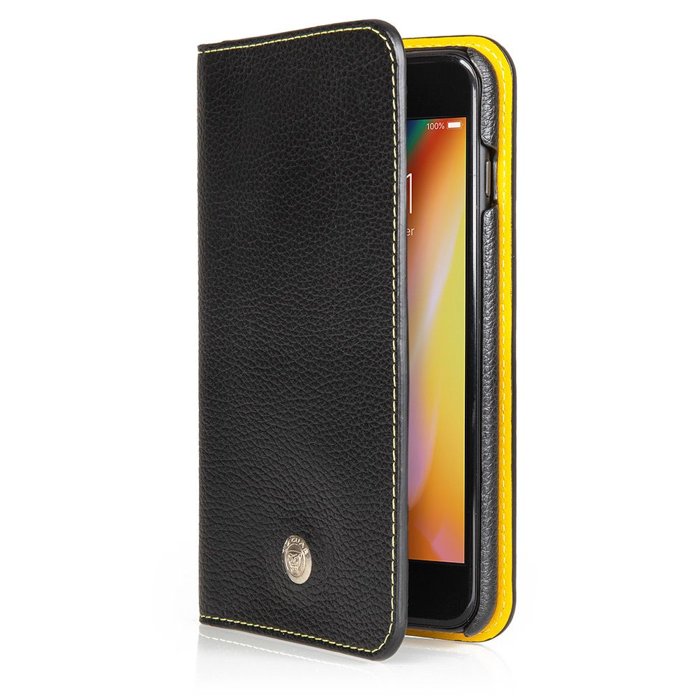 Ultimate Leather iPhone 8+ Wallet Case - Black